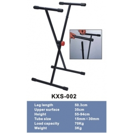 "NINGBO KXS002 KEYBOARD STAND SINGLE ""X"""