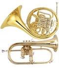 horns, flugelhorns and other brass