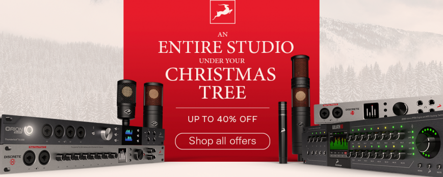 CHRISTMAS SALE DI ANTELOPE AUDIO