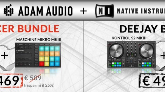 2 BUNDLE ADAM AUDIO / NATIVE INSTRUMENTS
