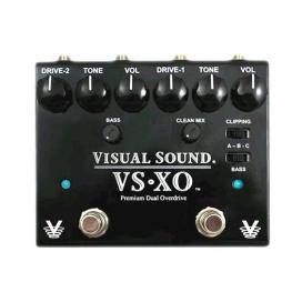 VISUAL SOUND V2-XO DOPPIO OVERDRIVE TRUE BYPASS
