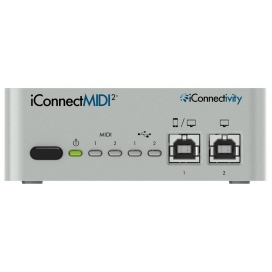 ICONNECTIVITY ICONNECT MIDI2+ MIDI INTERFACE