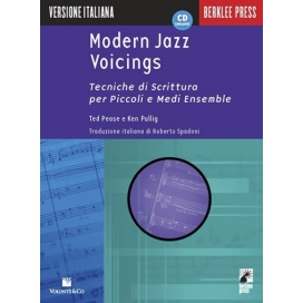 PEASE/PULLING MODERN JAZZ VOICING +CD MB95