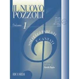 POZZOLI  IL NUOVO P.: SOLFEGGI PARLATI E CANTATI VOL.1 +CD - ER 2951
