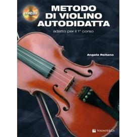 REITANO METODO DI VIOLINO AUTODIDATTA +CD MB81