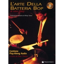 RILEY ARTE BATTERIA BOP + CD MB72