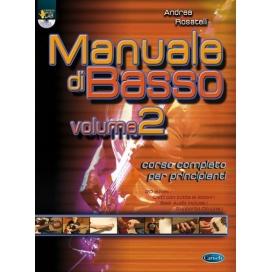 ROSATELLI MANUALE BASSO V.2 + DVD ML3267