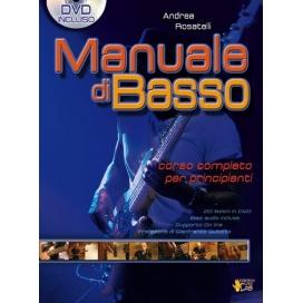 ROSATELLI MANUALE DI BASSO + DVD VOL.1 ML3094