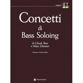 SHER/JOHNSON CONCETTI DI BASS SOLOING + 2CD MB259