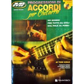 KOLB TOM PROGRESSIONE DI ACCORDI  +CD MB2
