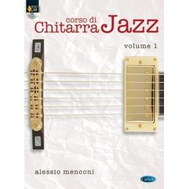 MENCONI CORSO DI CHITARRA JAZZ VOLUME 1 + CD ML3456