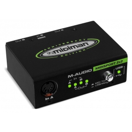 M-AUDIO MIDISPORT 2X2 USB ANNIVERSARY EDITION