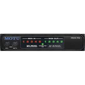MOTU MICRO LITE MIDI INTERFACE