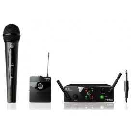 AKG WMS40 MINI 2 MIX SET RADIO MANO + CHITARRA