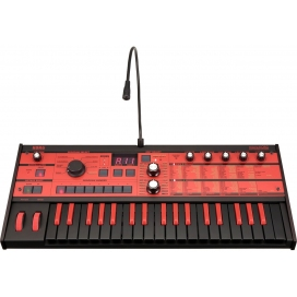 KORG MICROKORG XL+ BK/RD SYNTH LIMITED BLACK & RED